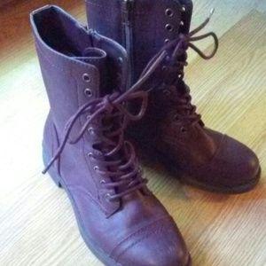 Brash combat boots